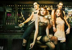 Emma Stone Fulfills a Childhood Dream as Cabaret's Latest Sally Bowles | Vanity Fair, November 2014 - by Pari Dukovic - 02