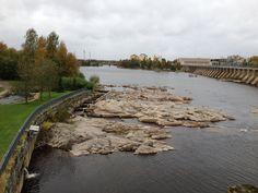 Finland, Oulu (2012, september) Damsluis