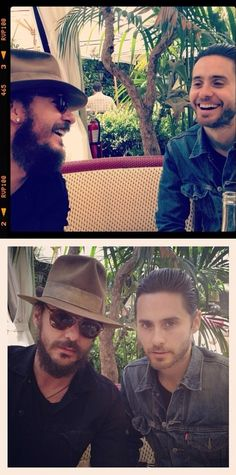 Brothers Jared Leto, Mars Photos, Russell Brand, Life On Mars, Shannon Leto, Two Brothers, James Mcavoy, Attractive People, Michael Fassbender