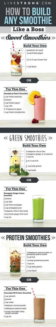 Splendid Smoothie Recipes for a Healthy and Delicious Meal Ideas. Amazing Smoothie Recipes for a Healthy and Delicious Meal Ideas. Protein Smoothies, Smoothie Detox, Juice Smoothie, Smoothie Drinks, Lactose Free Smoothies, Diabetic Smoothies, Making Smoothies, Breakfast Smoothies, Yummy Drinks