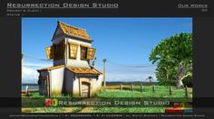 do accurate high quality professional 3D Model of Enviroment by resurrectiondsg