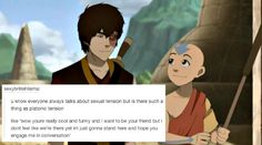 Aang and Zuko. Man I love their slow burn friendship Avatar Airbender, Avatar Aang, Avatar Funny, Team Avatar, Atla Memes, Dc Anime, Avatar Series, Iroh, Fire Nation