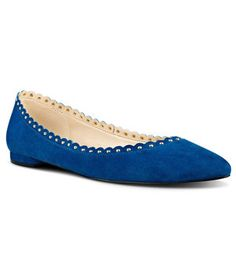Nine West Omlit Pointy Toe Flats | Got the blues? In this case—fashion-forward picks in the hottest color of the season—that's a good thing.