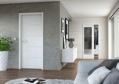 Bílé vnitřní dveře Sapeli - LOTOS Sky Garden, Room Colors, Tall Cabinet Storage, Sweet Home, New Homes, Living Room, Interior Design, Furniture, Home Decor