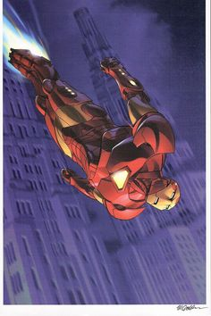 Iron Man by Michael Golden