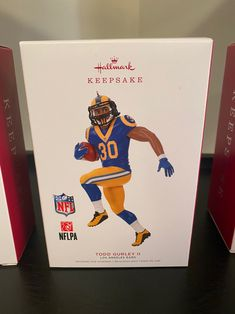 Todd Gurley 2019 Hallmark Ornament on Mercari Hallmark Christmas, Noel Christmas, Christmas Ornaments, Nfl, Todd Gurley, Hallmark Keepsake Ornaments, Decoration, Products, Christmas Trees