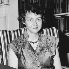 """FLANNERY O'CONNOR: """"Everywhere I go I'm asked if I think the university stifles writers. My opinion is that they don't stifle enough of them. There's many a best-seller that could have been prevented by a good teacher."""""""