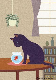 Yasushi Muraki Japanese illustrator http://melon33.jimdo.com/g-a-l-l-e-r-y/