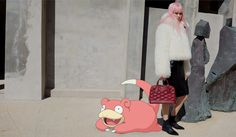 Campanha Louis Vuitton pelo Tumblr Pokemon&Fashion