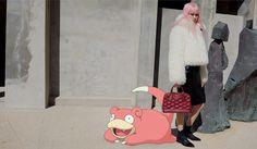 Campanha Louis Vuitton pelo Tumblr Pokemon&Fashion