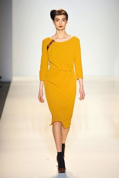 Lela Rose :: Fall 2012 RTW, Trend Takeaways-Shift Dress