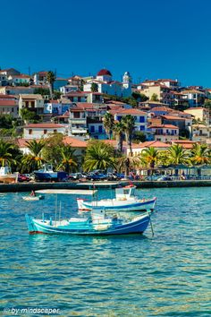 The Beauty of Koroni - The beauy of koroni and it's skyline in mediterranean colours Greece Vacation, Greece Travel, Greece Trip, Beautiful Islands, Beautiful World, Beautiful Places, Santorini Villas, Myconos, Greece Fashion