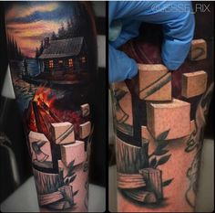 Jesse Rix tattoo