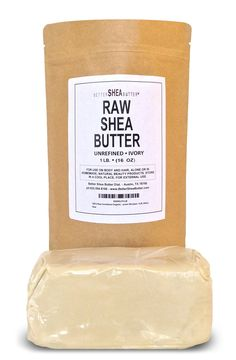 Shea butter can differ by brand. I always buy this brand and have never been disappointed. Shea butter puts the creamy in my lotions and body butters! click photo for where to buy raw shea butter at a great price