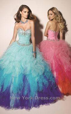 Mori Lee 91001 Dress. Shop NewYorkDress pink and blue dresses