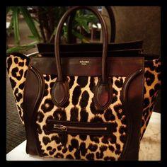 Celine leopard tote, drooooool....