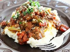 Slow Cooked Smothered Swiss Steak: The best slow cooker steak recipe! Classic Swiss steak tastes delicious for dinner.