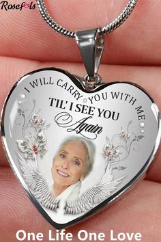 Gold Jewelry For Sale, Custom Jewelry, Memorial Jewelry, Memorial Gifts, Foto Memory, Engraved Bracelet, Photo Heart, Thing 1, Cool Gifts