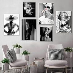 Flower Painting Canvas, Frames For Canvas Paintings, Cheap Paintings, Spray Painting, Figure Painting, Art Mural Fashion, Fashion Painting, Black And White Baby, Black And White Wall Art