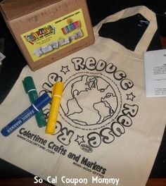 ColorTime Tote Bag & Marker Review – PLUS enter to win your own bag and marker set!