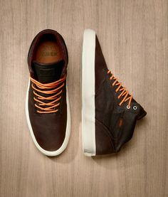 Vans OTW - Piercy (Jesień super got orange laces Me Too Shoes, Men's Shoes, Shoe Boots, Dress Shoes, Male Shoes, Top Shoes, Nike Outfits, Sharp Dressed Man, Stylish Men