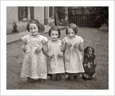 Before the Internet – 25 Lovely B&W Shots Capture Everyday Life of Children in the Past
