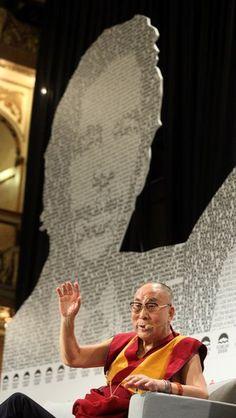 FORUM 2000 - Dalai Lama with Václav Havel Graphic design Dalai Lama, Studios, Events, Graphic Design, Studio