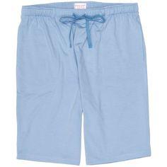 Derek Rose Basel 1 Jersey Shorts - Pale Blue | Pale Blue Lounge Shorts | KJ Beckett