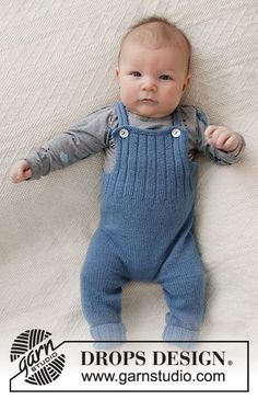 Afternoon Playdate / DROPS Baby - Free knitting patterns by DROPS Design, knitting for babies, Baby Knitting Patterns, Baby Clothes Patterns, Knitting For Kids, Baby Patterns, Free Knitting, Knitting Needles, Designer Baby, Drops Design, Crochet Baby Dresses