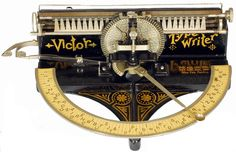 Victor typewriter - 1889 | Collectors Weekly