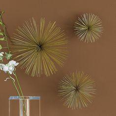 Set of 3 Wallflowers ~ $100.00 at burkedecor.com