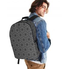 Designing our premium Backpacks is a meticulous process, as Artists have to lay out their artwork on each component.#backpack#bag#schoolbag#giftforhim#laptopsleeve#laptopbag