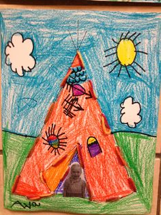 A picture colored in crayon by Ava, 5 years old • Art My Kid Made #kidart