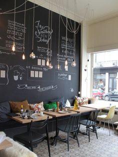 Coffee shop interior decor ideas 5 #coffeeshopdesign #coffeeshopinteriors