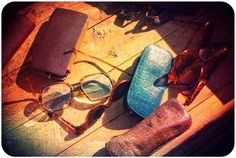 Summer feeling with these old school types of glasses.