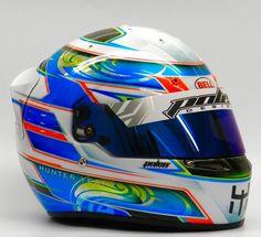 Hunter Yeany Bell KC-7 #polendesigns #helmetart #helmetdesign #helmetpaint #customhelmet #art @bellracingusa