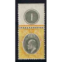 British colonies - Southern Nigeria, ** - postage stamp mint, without (trace of) stamp hinge. King Edward Vii, Stamp Collecting, Postage Stamps, Colonial, Postcards, Southern, Label, British, Stamps