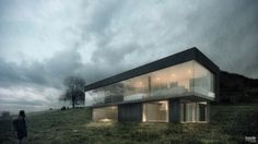 Rainy day at the country side on Behance