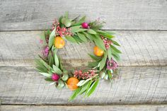 DIY a spring wreath: http://www.stylemepretty.com/living/2014/04/01/10-ways-to-springify-your-home/