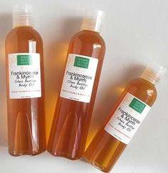 Frankincense & Myrrh body oil