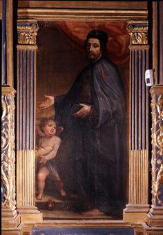 Alessandro Casolani - Beato Andrea Gallerani - sec. XVI - Siena (Italia) - Santuario Casa di Santa Caterina da Siena - Oratorio della Cucina