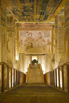 Tomb of Ramses VI #Egypt