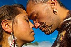 White Wolf : Maori Elders explain the meaning of the Hongi and the ancient Maori traditions
