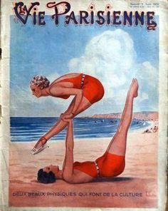 Armand Vallée (1884-1960). La Vie Parisienne, 9 Août 1930. [Pinned 15-vi-2015]
