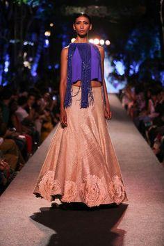 Lakme Fashion Week Summer 2015 - Manish Malhotra Blue Runway
