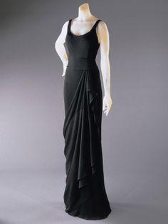 Evening Dress    Elsa Schiaparelli, 1931-1932    The Philadelphia Museum of Art
