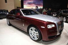 Photos et vidéos de Rolls-Royce Ghost - Rolls Royce Ghost Series II : encore plus confortable, c'est possible ! - Salon de Genève 2014