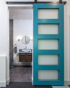 Gorgeous 5 Panel Blue door