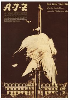 John Heartfield The Spirit of Geneva 1932