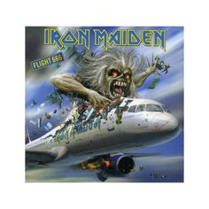 Магнит Iron Maiden - Flight 666
